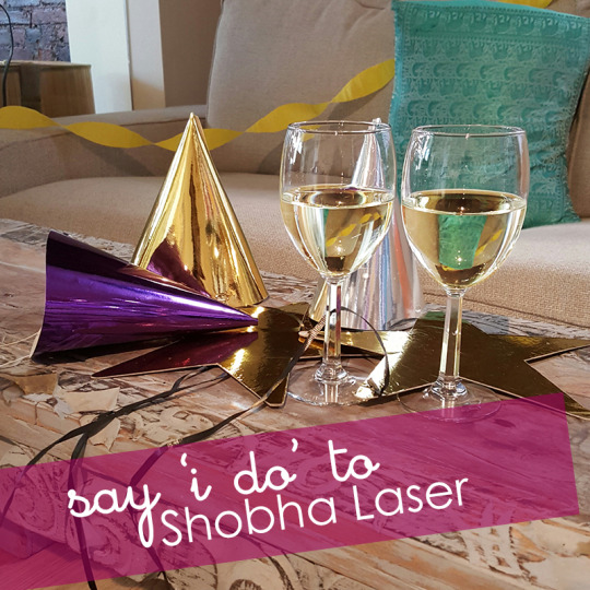 say i do to shobha laser