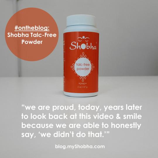 Shobha Talc-Free Powder
