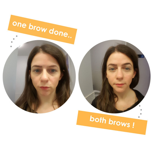godefroy instant eyebrow tint review