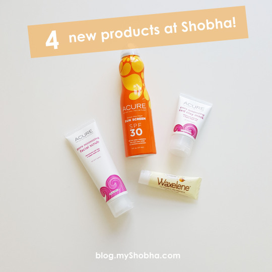 4 new products at shobha
