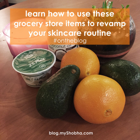 grocery store items for skin care