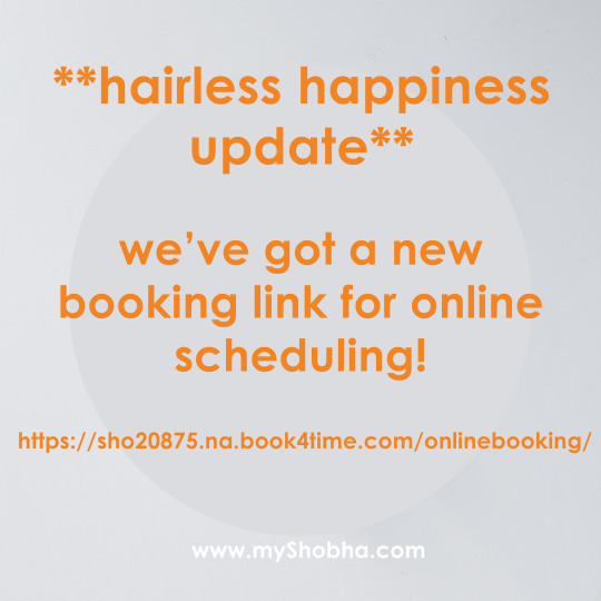 new booking link