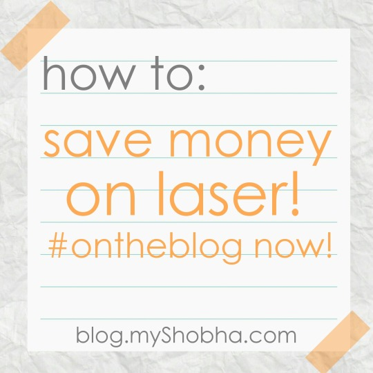 how to save money on laser hair removal
