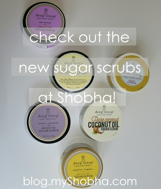 new sugar scrubs at shobha