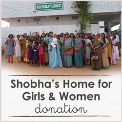 Shobha's Home for Girls and Women Donation