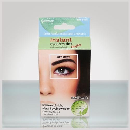 godefroy instant eyebrow tint + dark brown