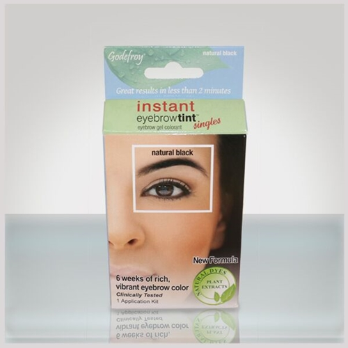 godefroy instant eyebrow tint + natural black