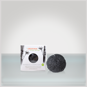 the japanese konjac sponge bamboo charcoal konjac puff